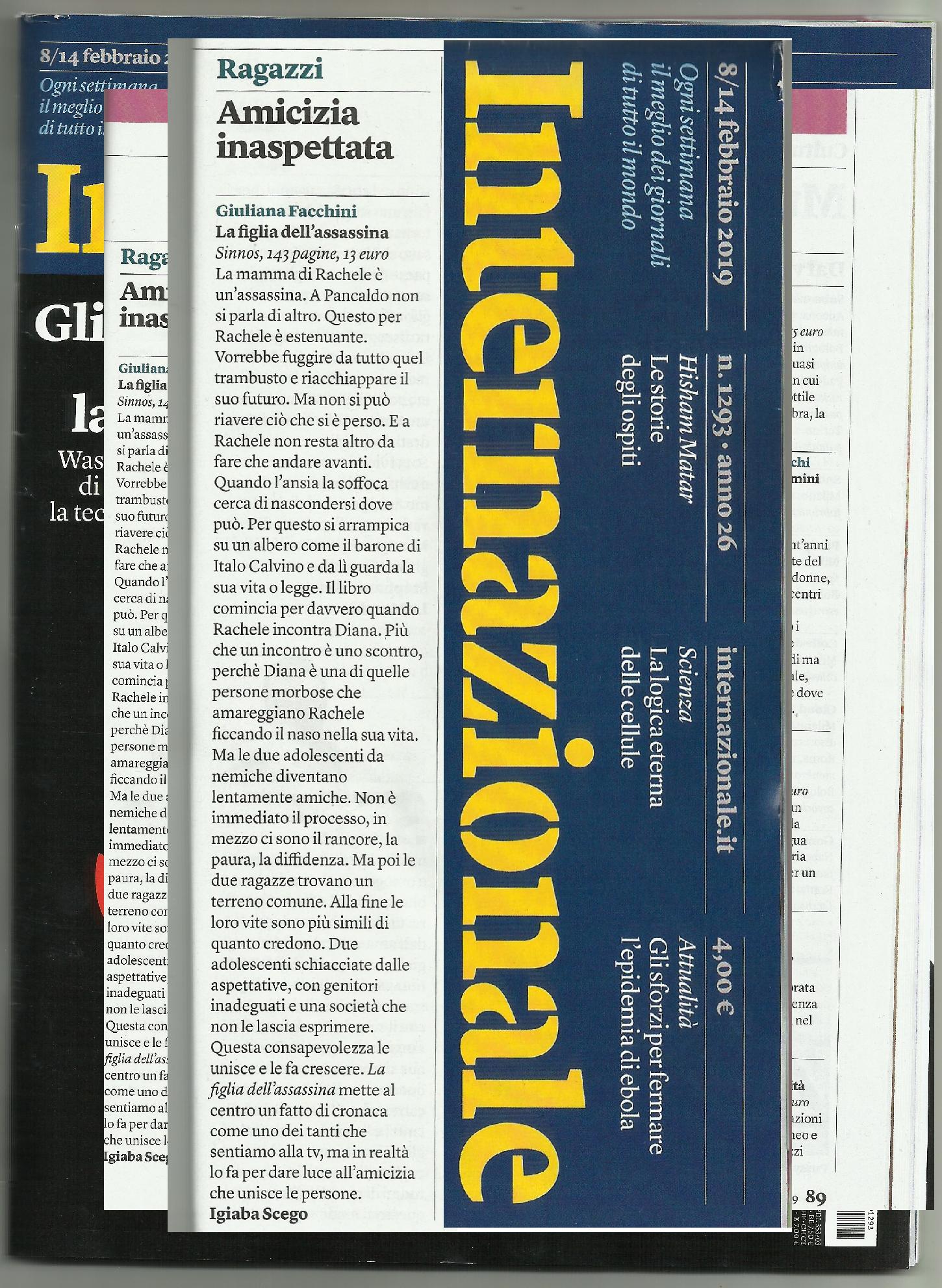 articolo internazionale